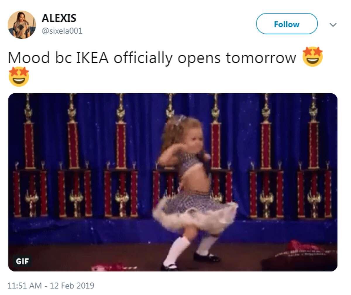 @sixela001: Mood bc IKEA officially opens tomorrow