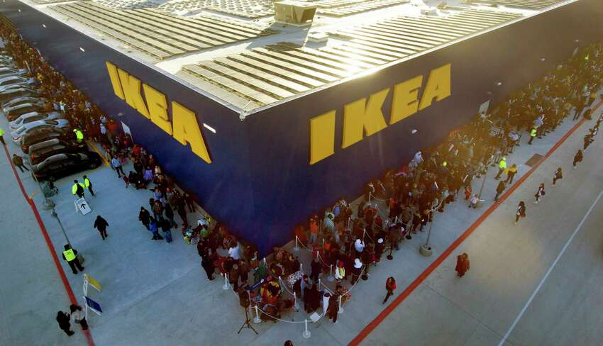 1. Grand opening for Ikea in Live Oak People waited outside the furniture store for hours in chilly temperatures on Feb. 13, 2019- a day that will forever be remembered as