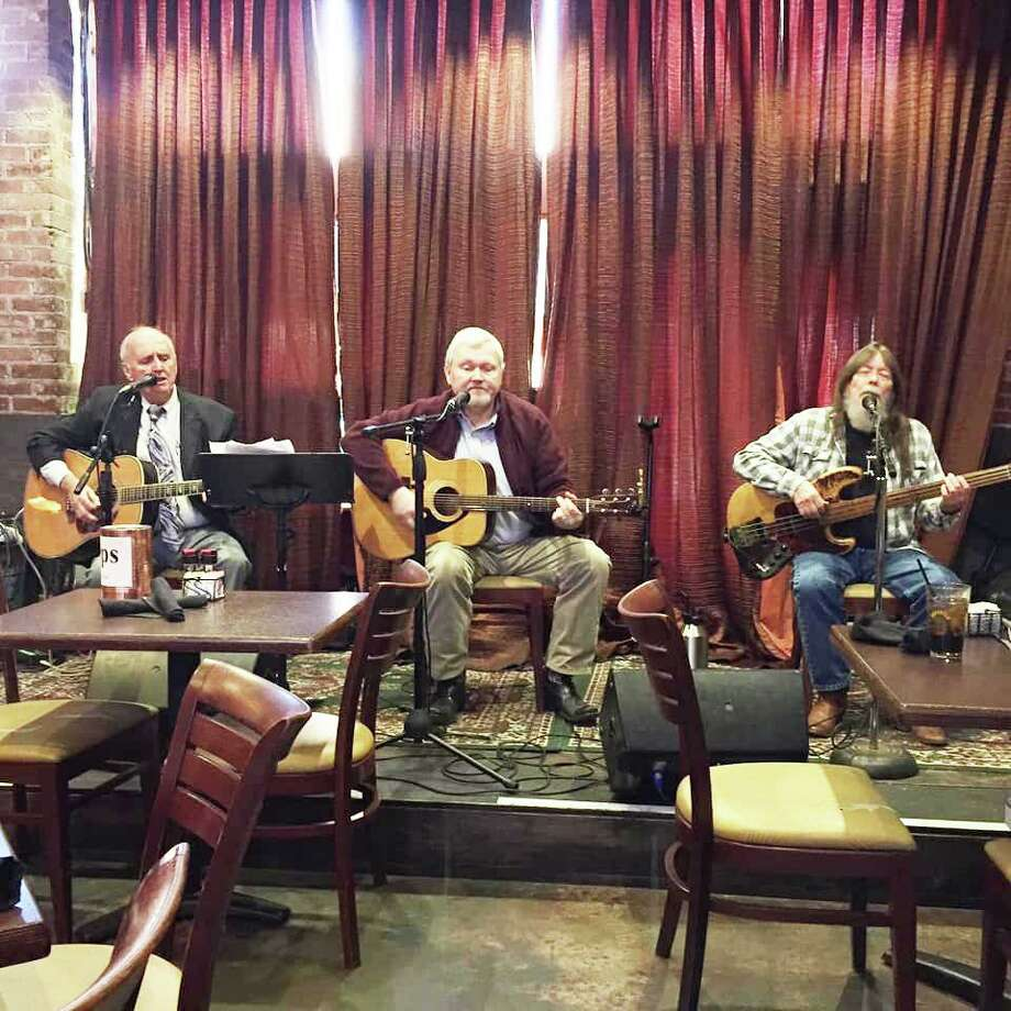 The Jim Sloan Trio, from left, includes Jim Sloan, Bobby Nichols and Claude Wooley. They perform each Sunday at 11:30 a.m. as a part of Red Brick Tavern's Gospel Sunday Brunch. Photo: Courtesy Photo