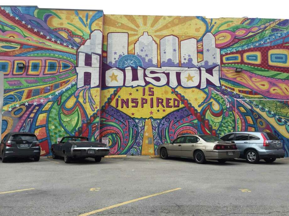 An iconic sign puts on nice spin on the city. The University of Houston Small Business Development Center will show business owners how to use Instagram in their business. Photo: Al Lewis / Houston Chronicle