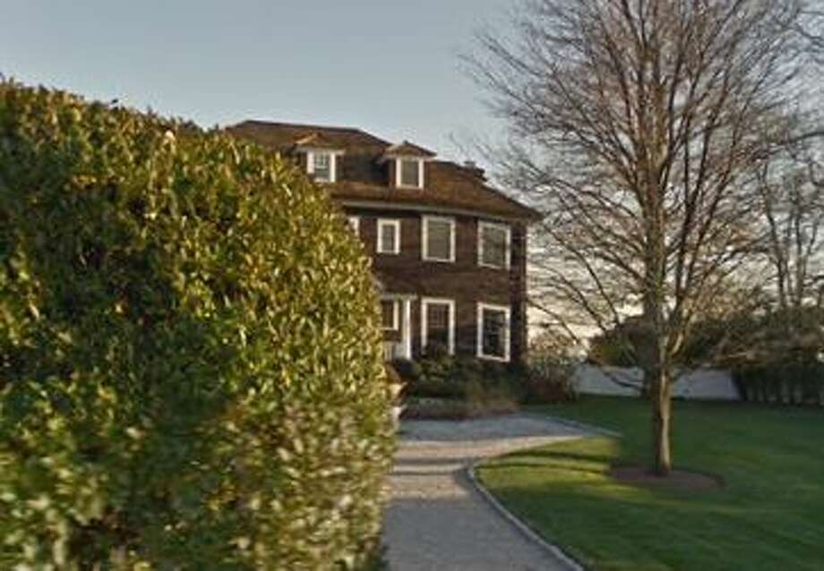12 Shorehaven Road in Norwalk sold for $5,020,000. Photo: Google Street View