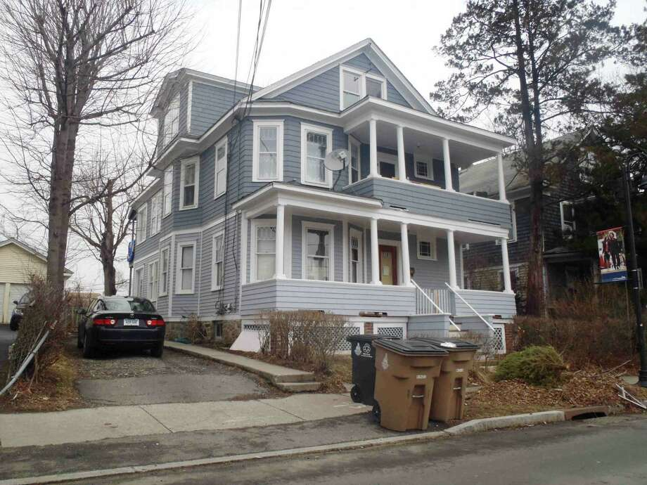 Estelle McCauley, owner of the house at 18 Walter Wheeler Drive, sought to sign a petition to protect the historic South End neighborhood from a Planning Board decision that would allow high-rises to be built nearby. McCauley's effort to prove home ownership at City Hall proved so onerous that she missed a deadline for signing the petition to appeal the decision. Photo: Source: City Tax Records / Contributed Photo / Stamford Advocate contributed