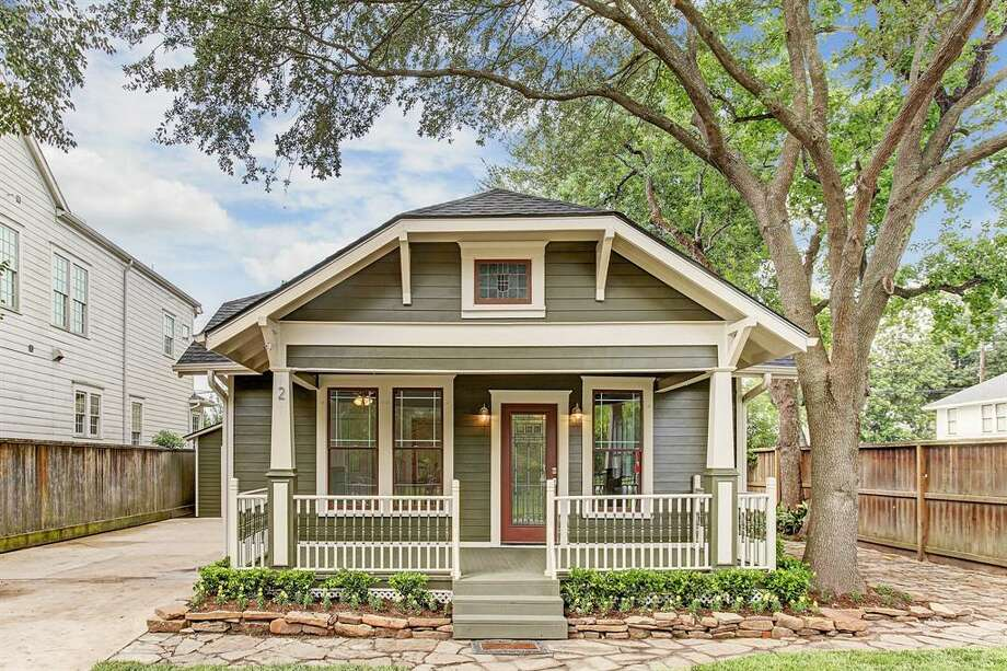 The average Houston Heights home price is $800,000.>>>See Heights homes listed at roughly that price.  Photo: Houston Association Of Realtors