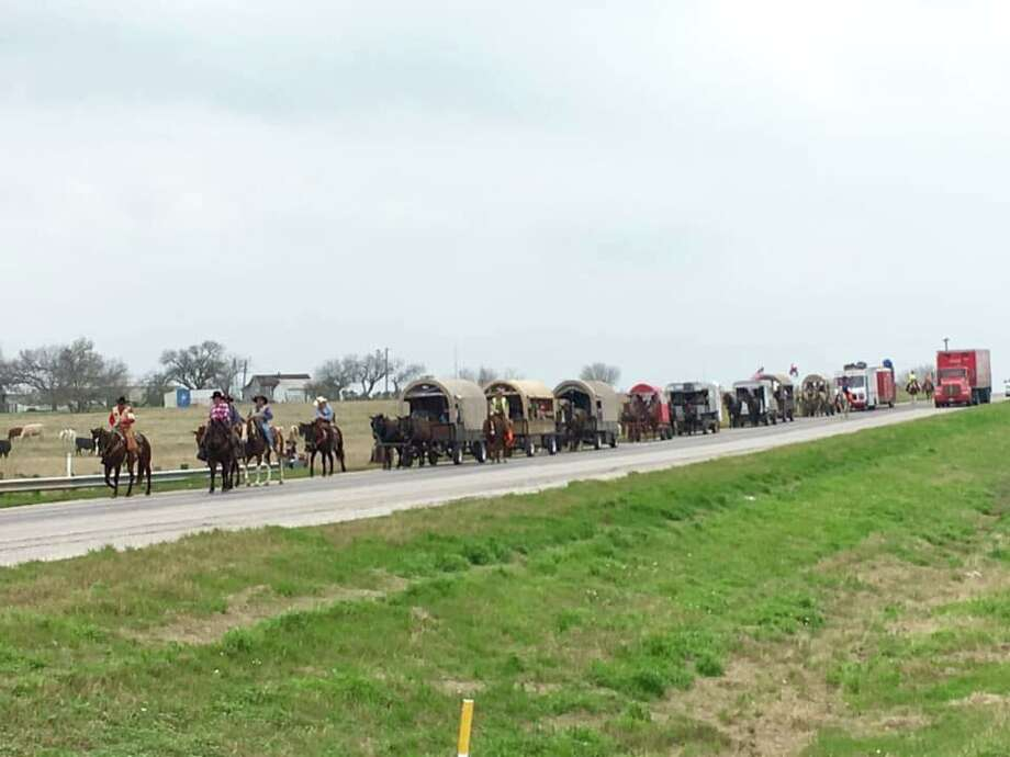 The South Texas Trail Riders said two of their horses were fatally poisoned over the weekend. Photo: Contributed Photo
