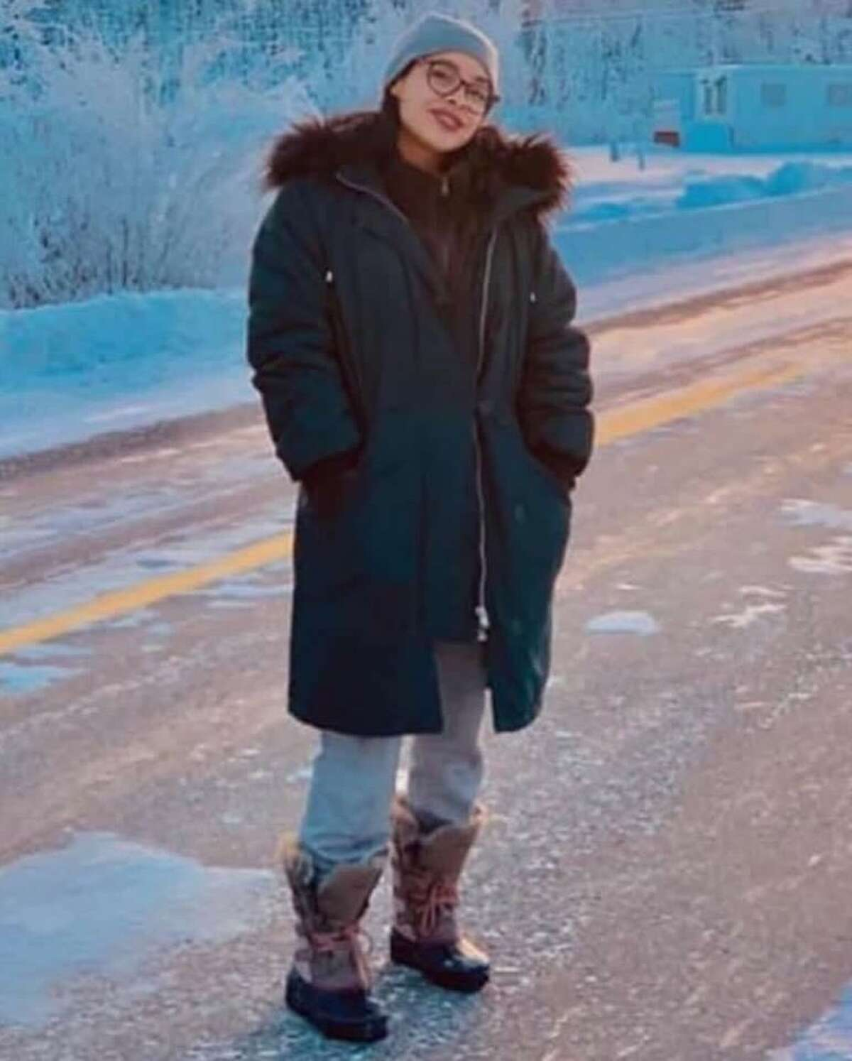 Valerie Reyes, 24, of New Rochelle, N.Y., has been identified as the victim found dead beside a Greenwich road, police said.