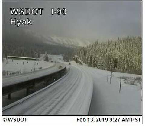 Stuck: WB I-90 over Snoqualmie Pass to remain closed