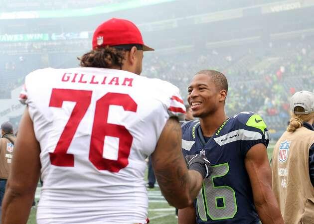 49ers release high-priced backup OT Gilliam