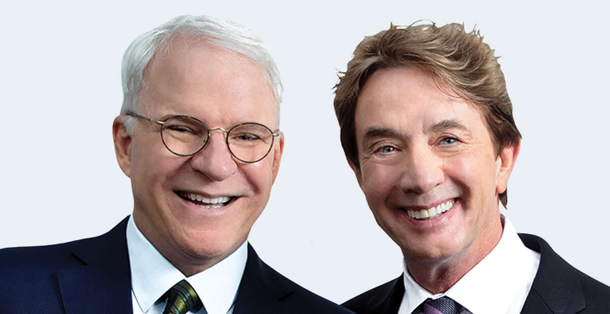 Friday: Steve Martin and Martin Short are offering an evening of music, stories and comedy at the Saratoga Performing Arts Center.