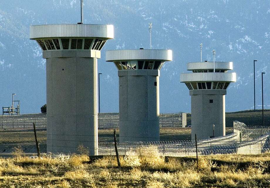 The maximum security federal prison near Florence, Colo., is guarded by razor-wire fences, gun towers, heavily armed patrols and attack dogs. Photo: Chris McLean / Pueblo (Colo.) Chieftain 2007