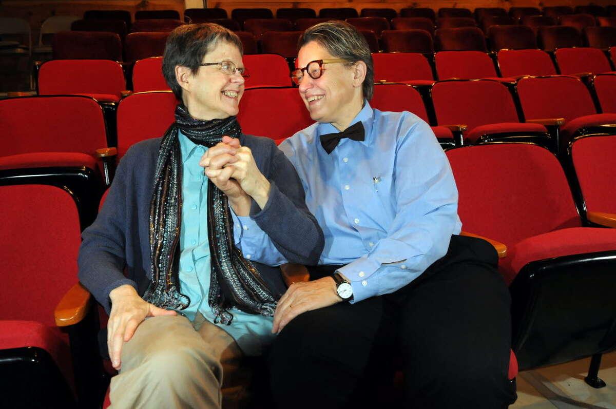 Claudia Bruce, left, and Linda Mussmann (Cindy Schultz / Times Union)