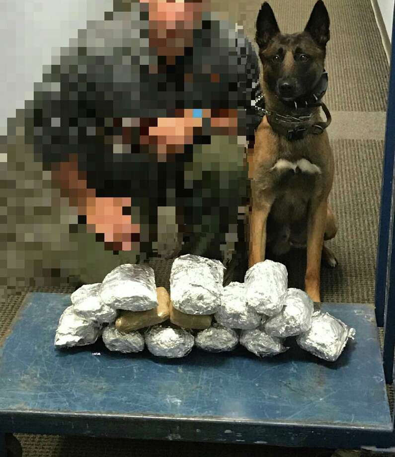 Agents seized roughly 20 pounds of methamphetamine in the traffic stop on Feb. 11, 2019. Photo: Bexar County Sheriff's Office