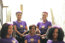 A Journey To Discovery's organizing members are, first row, left to right, Marlana Foster Clemons, founder of A Journey To Discovery, and Candice Foster; center, Victoria Foster; back row, left to right, Ruby Foster and Florita Foster. A Journey To Discovery is holding the ministry's first conference, The Daughters Of The King/The Crown Still Fits, inspired by the Foster family matriarch, the late Viola Foster, who passed away Oct. 4, 2018.