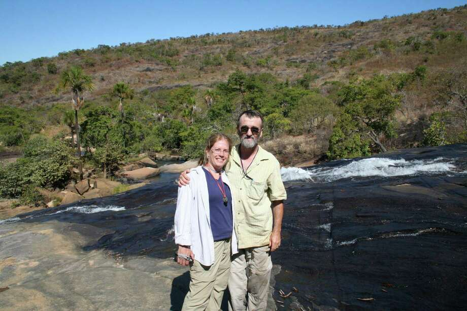 Paula and Tom Philbrick in Brazil. Photo: Contributed Photo /