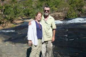 Paula and Tom Philbrick in Brazil.