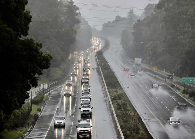 Traffic: Landslides, flooding stall Bay Area roadways