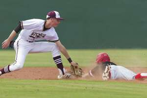 Magnolia West shortstop Zach Wall returns for his senior year.