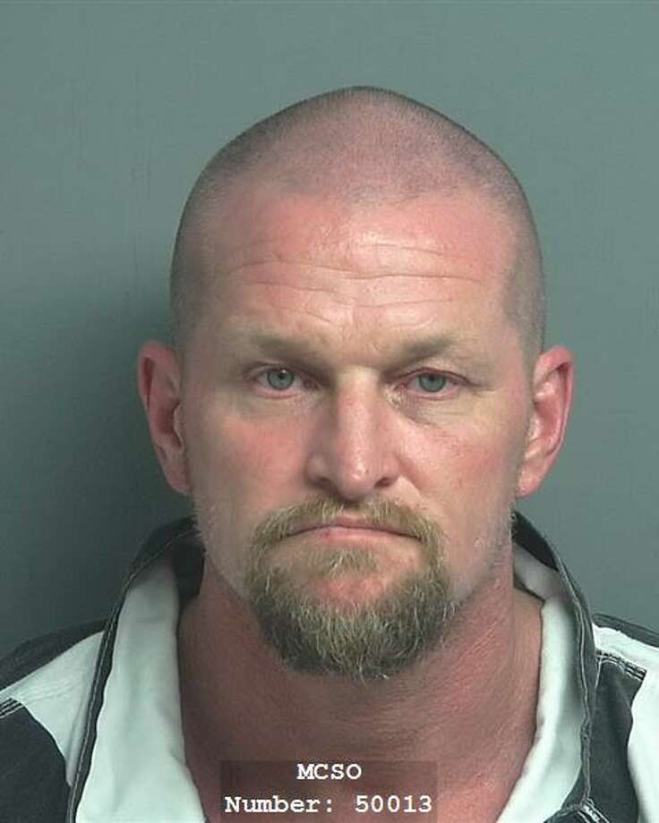 Steven James Roper, 47, was arrested and charged with burgalry of a building and unlawful possession of body armor. Photo: Courtesy Of The Montgomery County Sheriff's Office