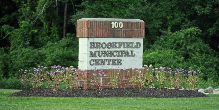 The entrance to the Brookfield Municipal Center. Thursday, August 10, 2017, in Brookfield, Conn. Photo: H John Voorhees III / Hearst Connecticut Media / The News-Times