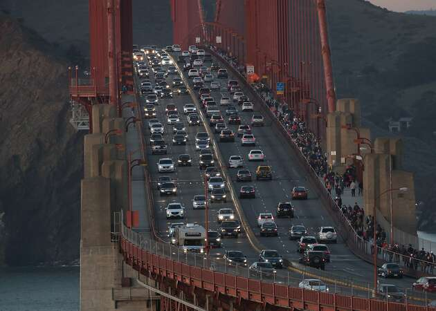 Golden Gate Bridge partially shut down for storm repairs