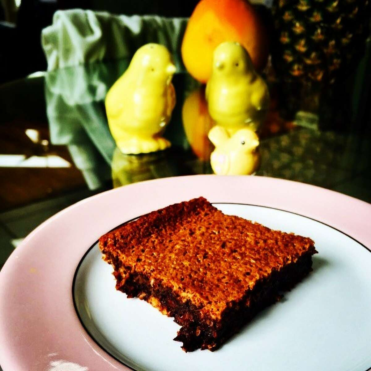 A grain-free brownie. (Photo by Stacey Morris)