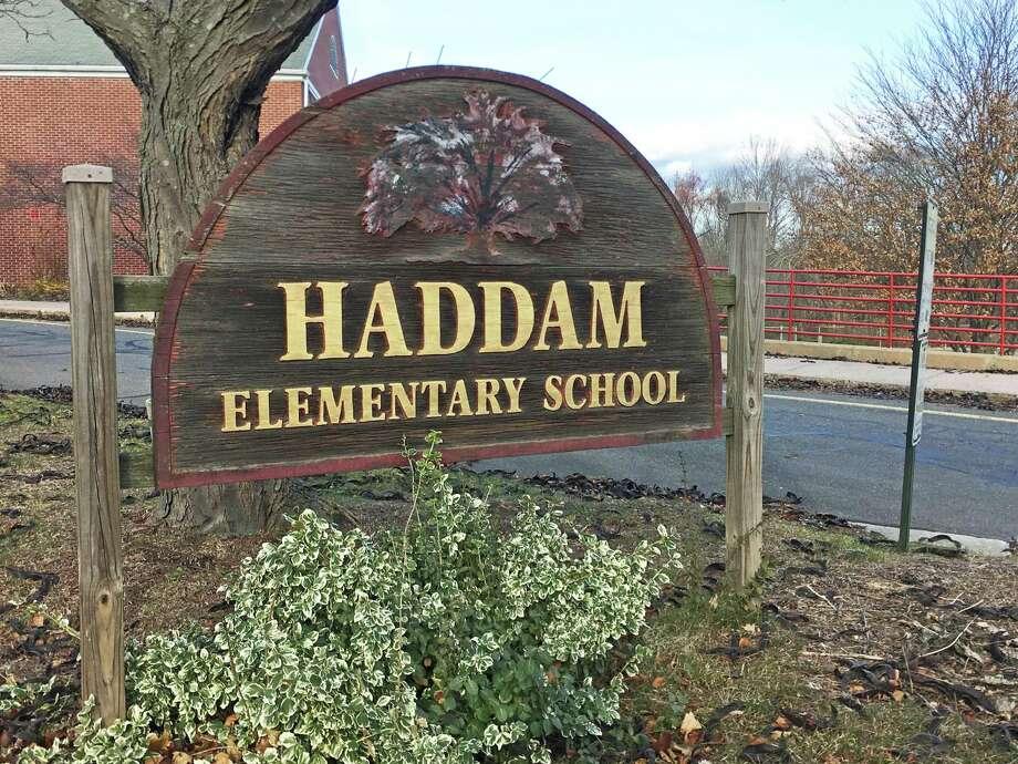 Haddam Elementary School in Higganum center Photo: Contributed Photo