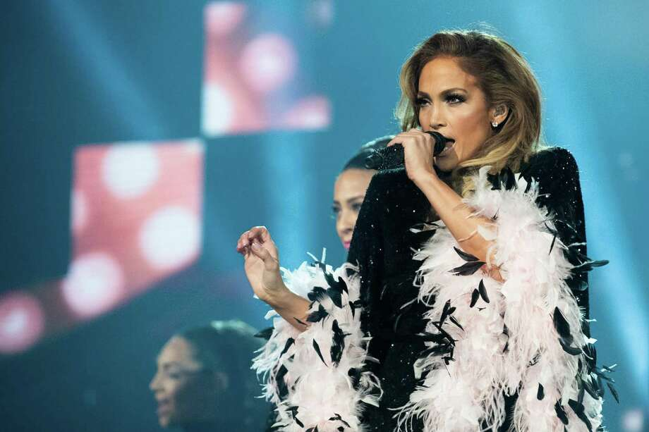 Jennifer Lopez, pictured onstage at the Grammy Awards, will play the AT&T Center in June. Photo: Emma McIntyre, Staff / Getty Images For The Recording Academy / 2019 Getty Images
