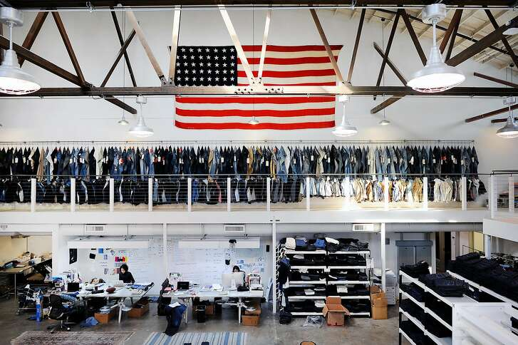 A view of Levi's Eureka Innovation Lab in San Francisco, CA, on Friday, March 6, 2015.   Michael Kobori is spearheading a drive for the apparel maker to generate 100 percent of its annual revenue from products that leave no impact on the environment.