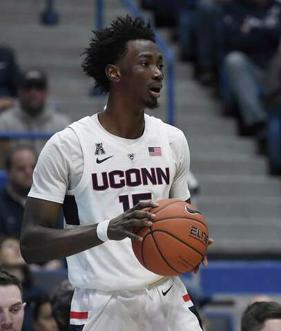 afb7535d4faf <p>UConn's Sidney Wilson scored a career-high 16 points against Memphis in