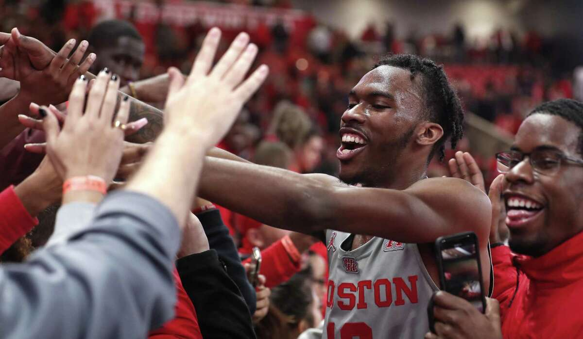 UH guard Dejon Jarreau is happy with the way he and his teammates are playing after the transfer got off to a rough start earlier this season.