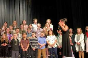 Scenes from the 2018 St. Jude's Telethon at Torrington High School include a local children's choral performance. The 40th annual event is set for Sunday, March 3.
