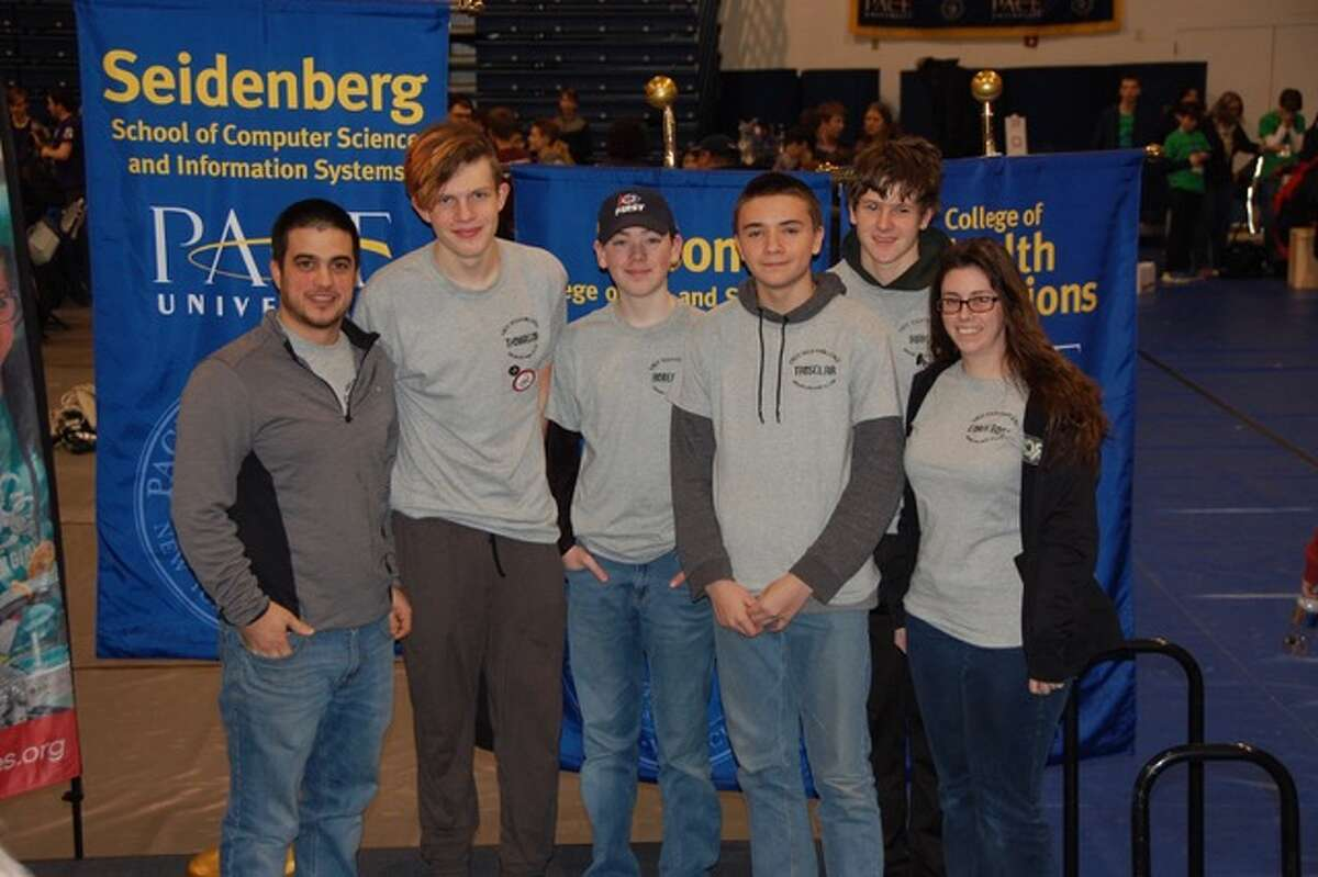 Last month, students from Ravena-Coeymans-Selkirk High School participated in the Albany Academy FIRST Tech Challenge competition. According to the school, they were awarded the Collins Aerospace Award for the most innovative and creative robot design solution and were invited to participate in the regional competition at PACE University on Feb. 10, where their team placed fifth overall.