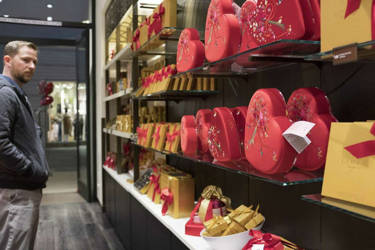 How much of Valentine's Day has become stores telling us how to express our love?