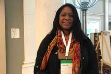 Chrystal Edwards hopes to expand her personal stylist business after attending free workshop sponsored by Google in New Haven.