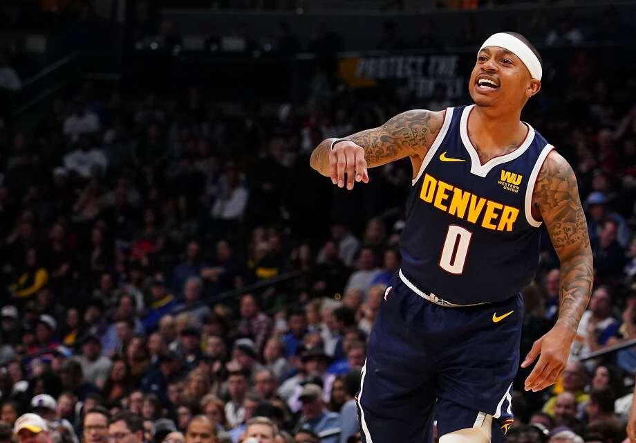 Denver has a new weapon in their quest to be best in the West — guard Isaiah Thomas. Photo: Jack Dempsey / Associated Press