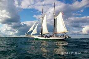 Madeline is a reconstruction of a mid-19th century Great Lakes schooner and one of the State of Michigan's official tall ships. (photo provided)