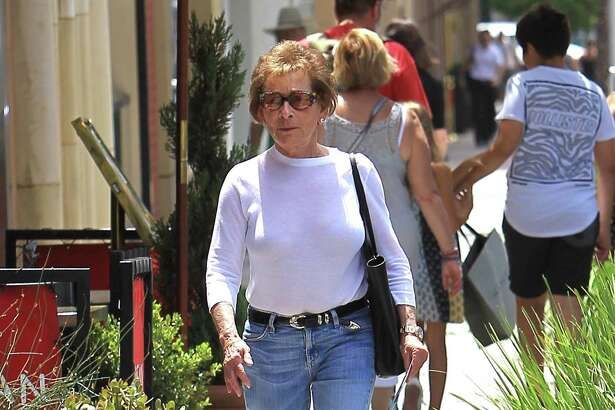 Judge Judy Sheindlin is seen on July 9, 2018 in Los Angeles.