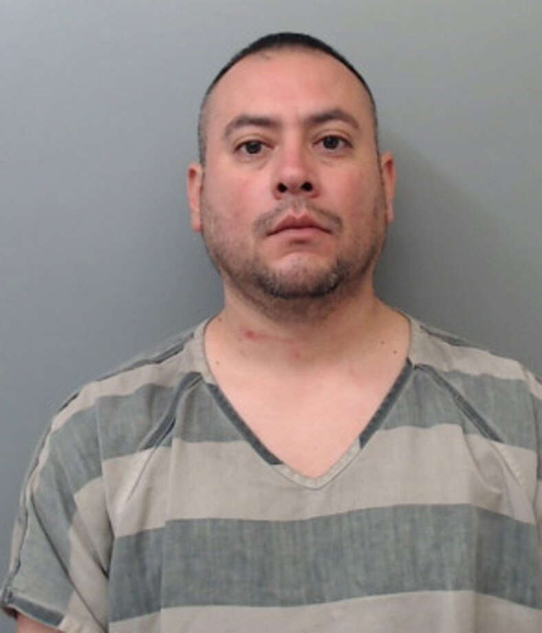 Armando Mata, 39, was charged with aggravated assault with a deadly weapon. Photo: Webb County Sheriff's Office