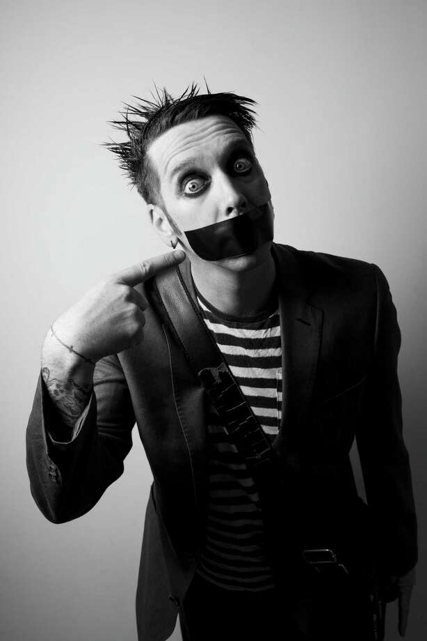 """America's Got Talent"" star Tape Face returns to perform at the Ridgefield Playhouse March 14. Photo: Ridgefield Playhouse / Contributed Photo"