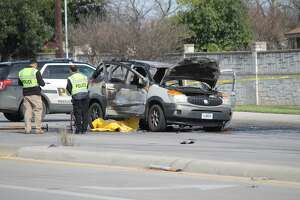 A man was killed on Culebra Road when a traffic signal ruptured his gas tank and caused the car to combust on Feb. 14, 2019