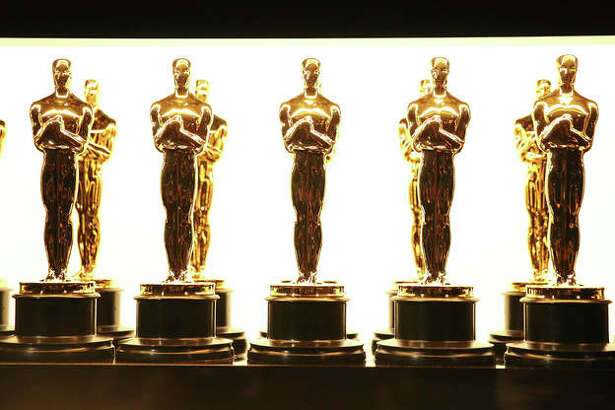 In this Feb. 26, 2017 file photo, Oscar statuettes appear backstage at the Oscars in Los Angeles.