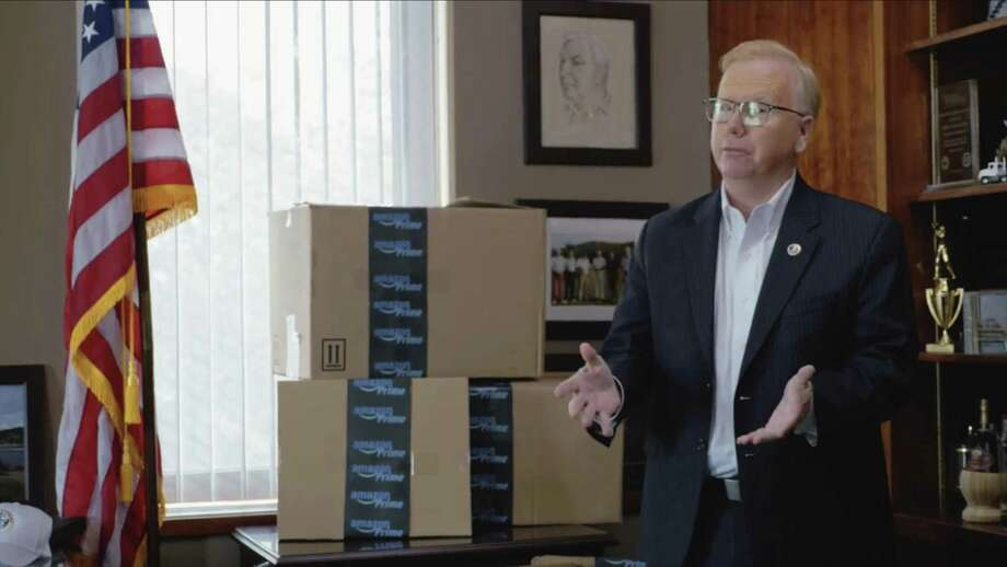 Photographs from a new video, released Thursday, by Mayor Mark Boughton where he touts the hat city as the right location for Amazon's new headquarters, citing Danbury as Connecticut's safest city, Connecticut's most diverse city, and the best city in Connecticut to do business. Thursday, September 14, 2017. Photo: Contributed Photo / The News-Times / The News-Times Contributed