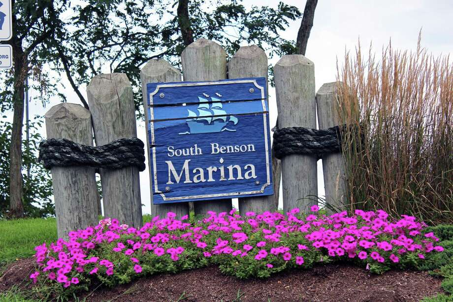 Getting a boat slip at South Benson Marina is not so easy. Photo: Genevieve Reilly / Hearst Connecticut Media / Fairfield Citizen