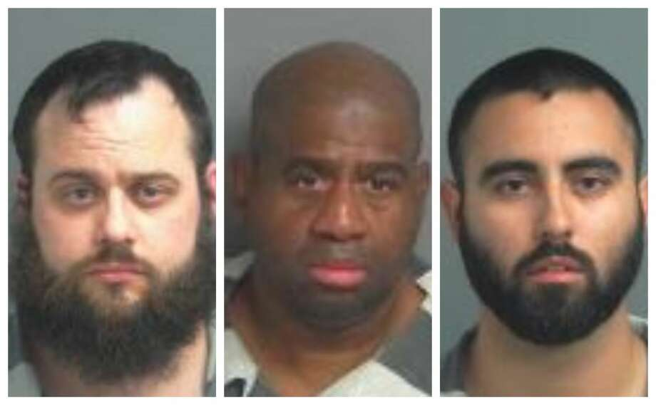 Seven men and a minor were arrested for allegedly soliciting prostitutes online. Photo: Montgomery County Sheriff's Office