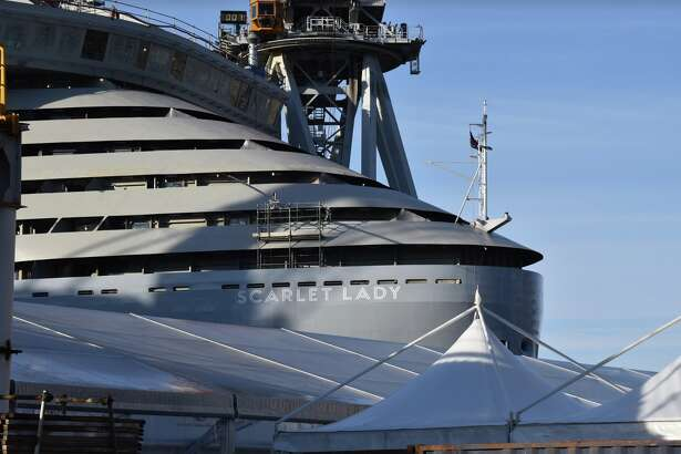Virgin Voyages' Scarlet Lady is currently under construction, but will set sail next year