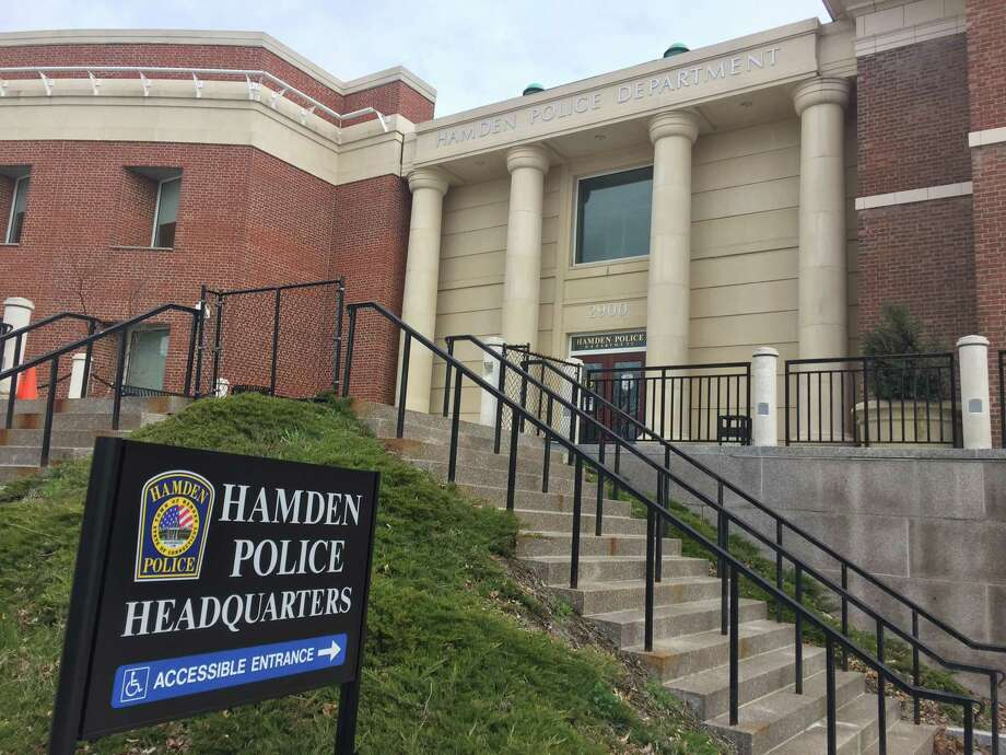 The Hamden Police Department. Photo: Ben Lambert / Hearst Connecticut Media