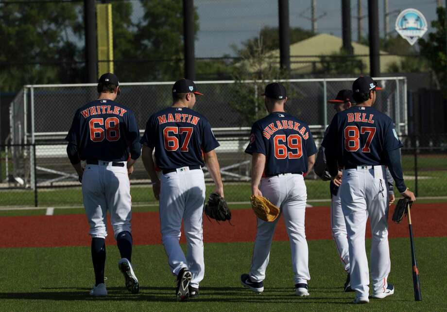 PHOTOS: A look at the Astros' top prospects heading into the 2019 season