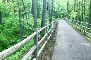 The Tuttle loop section of the Westlake and Mattabesset Bike and Walking Trail in Middletown