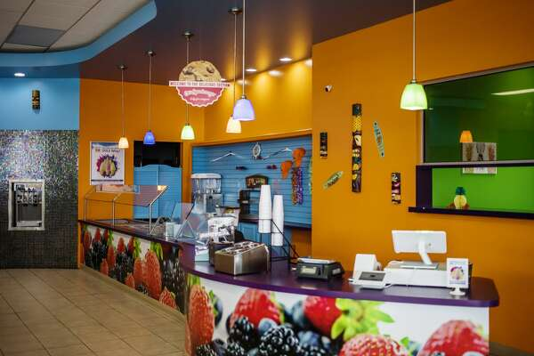 Tiki Pineapple opens Saturday, Feb. 16, 2019 at 1908 S. Saginaw Road in Midland Plaza (near Jimmy John's) and specializes in dairy-free Dole soft serve ice cream. (Katy Kildee/kkildee@mdn.net)
