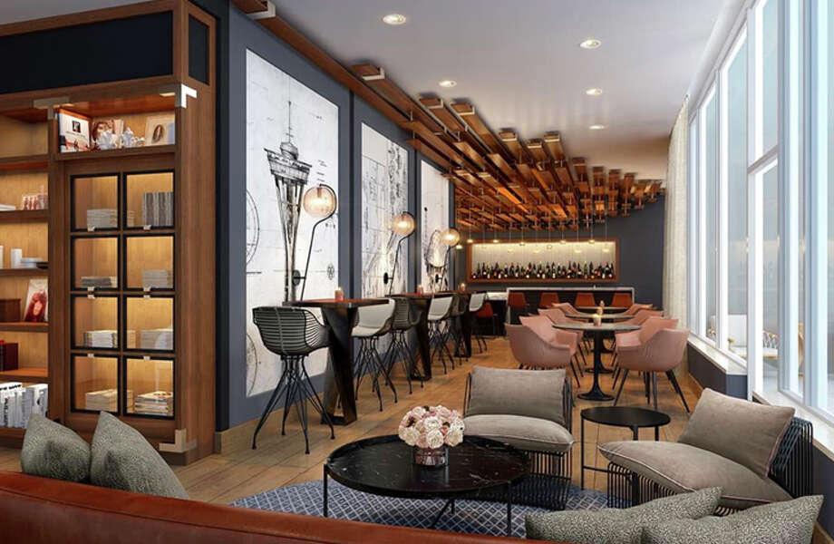 Bar at the Sound Hotel Seattle Belltown. Photo: Sound Hotel