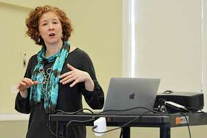 "Erin Boggs of the Open Communities Alliance presented a summary of housing segregation/integration and potential legislation surrounding these topics Thursday morning at the deKoven House in Middletown.The Middlesex Coalition for Children hosted the program and discussion with legislators from ""demographically distinct"" Middlesex County districts."